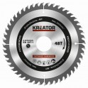 Kreator KRT020409 - Pilový kotouč na dřevo 160mm, 48T