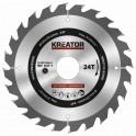 Kreator KRT020410 - Pilový kotouč na dřevo 165mm, 24T