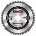 Kreator KRT020415 - Pilový kotouč na dřevo 185mm, 60T