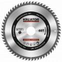 Kreator KRT020419 - Pilový kotouč na dřevo 200mm, 60T