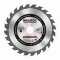 Kreator KRT020420 - Pilový kotouč na dřevo 210mm, 24T