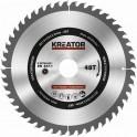 Kreator KRT020421 - Pilový kotouč na dřevo 210mm, 48T