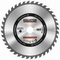 Kreator KRT020427 - Pilový kotouč na dřevo 254mm 40T