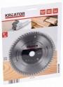 Kreator KRT021602 - Pilový kotouč na dřevo 165 mm, 60 Z