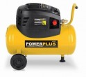 PowerPlus POWX1730 - Kompresor bezolejový + přísl. + PRODLOUŽENÁ ZÁRUKA 36 MĚSÍCŮ