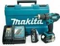 Makita DHP456RF3J aku příklepový šroubovák, 3x aku, systainer