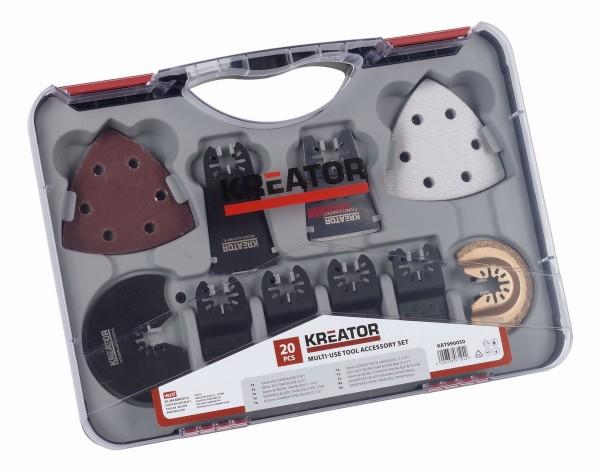Kreator KRT990050 - Sada pro multifunkční brusky 20ks