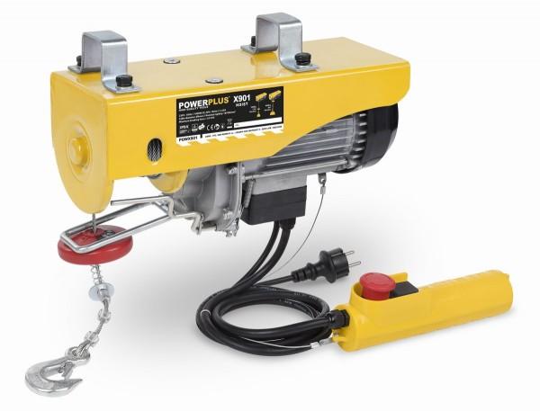 PowerPlus POWX901 - Zdvihací zařízení (kočka) 1 000 W 200-400 Kg + PRODLOUŽENÁ ZÁRUKA 36 MĚSÍCŮ
