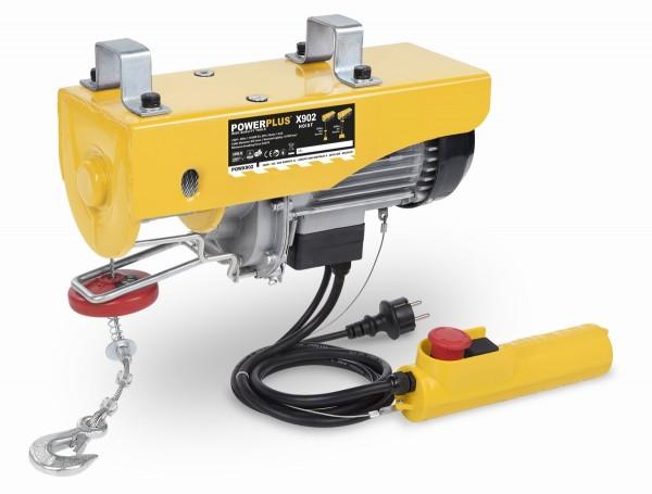 PowerPlus POWX902 - Zdvihací zařízení (kočka) 1 050 W 300-600 Kg + PRODLOUŽENÁ ZÁRUKA 36 MĚSÍCŮ