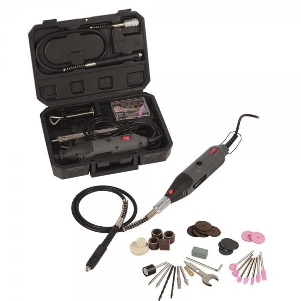 PowerPlus POWE80060 - Přímá bruska 135 W