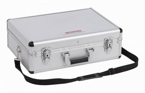 Kreator KRT640102S - Hliníkový kufr 460x330x155mm stříbrný