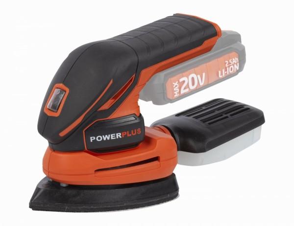 PowerPlus POWDP5020 - Aku vibrační delta bruska 20V (bez AKU)