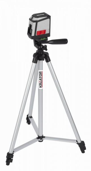 Kreator KRT706300T - Křížový laser + stativ