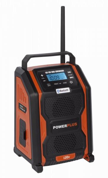 PowerPlus POWDP8060 - Aku rádio 20V + 220V (bez AKU) + PRODLOUŽENÁ ZÁRUKA 36 MĚSÍCŮ