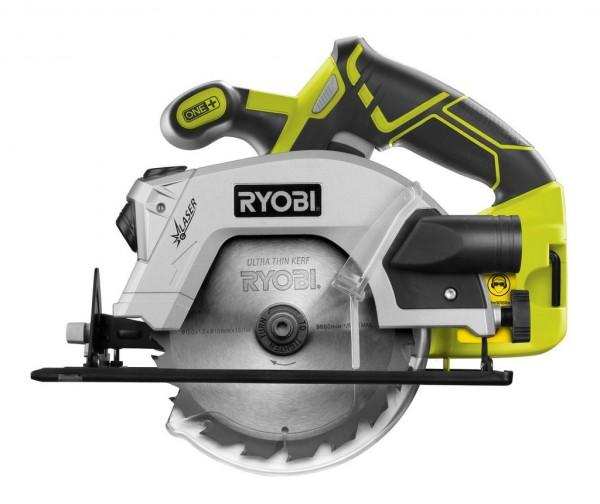 Ryobi RWSL 1801 M aku ruční okružní pila s laserem ONE+