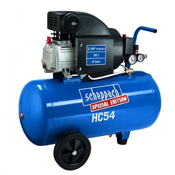 Scheppach HC 54 - olejový kompresor + PRODLOUŽENÁ ZÁRUKA 48 MĚSÍCŮ
