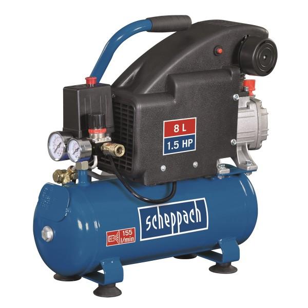 Scheppach HC 08 - olejový kompresor + PRODLOUŽENÁ ZÁRUKA 48 MĚSÍCŮ