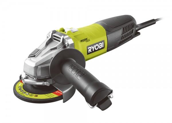 Ryobi RAG800-125S - úhlová bruska 125 mm