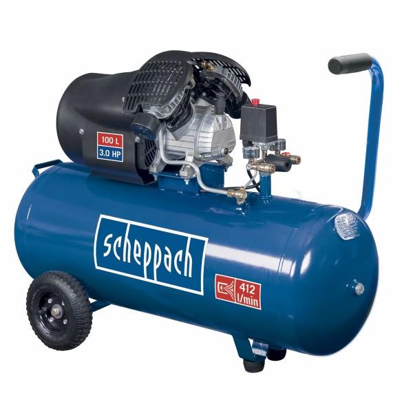 Scheppach HC 100 dc olejový kompresor + PRODLOUŽENÁ ZÁRUKA 48 MĚSÍCŮ