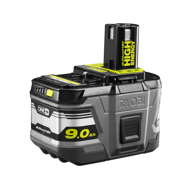 Ryobi RB18L90 18 V lithium iontová HIGH ENERGY baterie 9 Ah ONE+