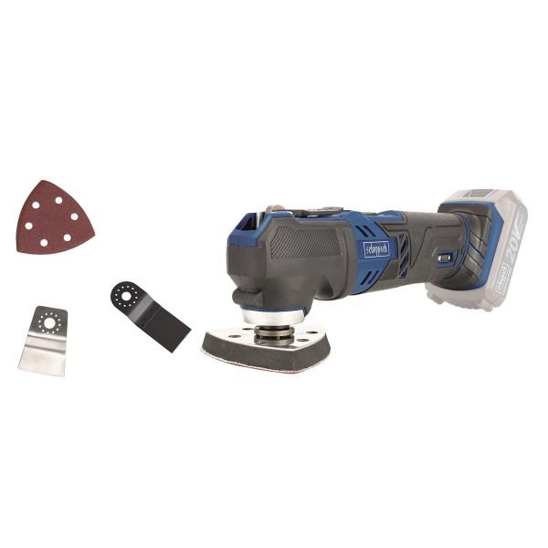 Scheppach CMT200 20 ProS aku 20 V multifunkční nástroj+ příslušenství