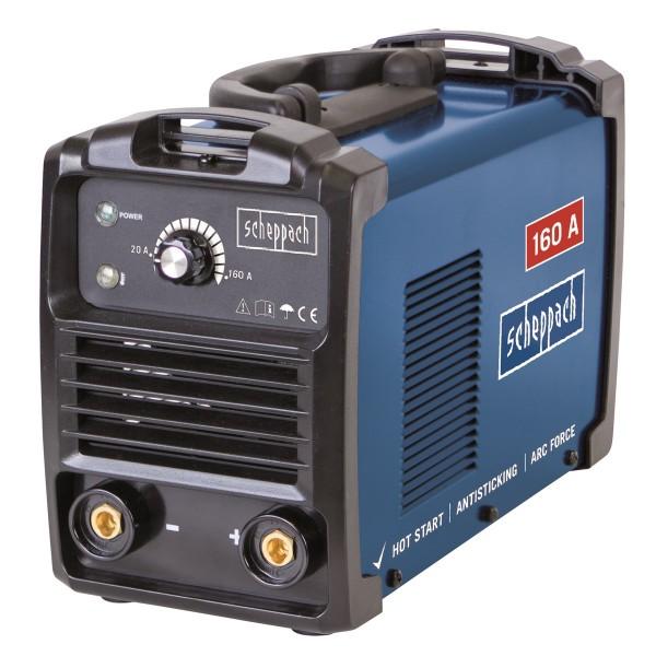 Scheppach WSE1100 svářecí invertor 160 A s příslušenstvím + PRODLOUŽENÁ ZÁRUKA 48 MĚSÍCŮ