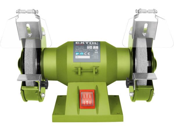 Extol Craft 410120 bruska stolní dvoukotoučová