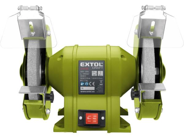 Extol Craft 410130 bruska stolní dvoukotoučová 350 W