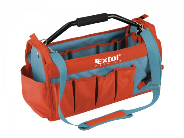 Extol Premium 8858022 taška na nářadí s kovovou rukojetí