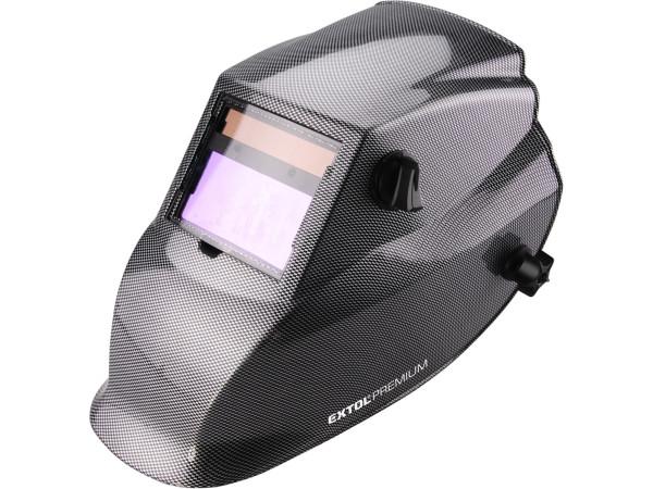 Extol Premium 8898027 kukla svářecí samostmívací karbonová WH 800
