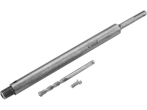 Extol Premium - upínací stopka SDS Plus s vodícím vrtákem 300mm velikost vrtáku 8x110mm