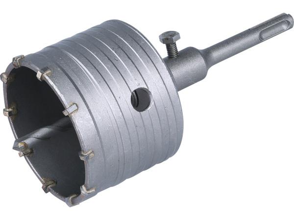 Extol Premium - vrták SDS PLUS do zdi korunkový 79mm, délka stopky 100mm