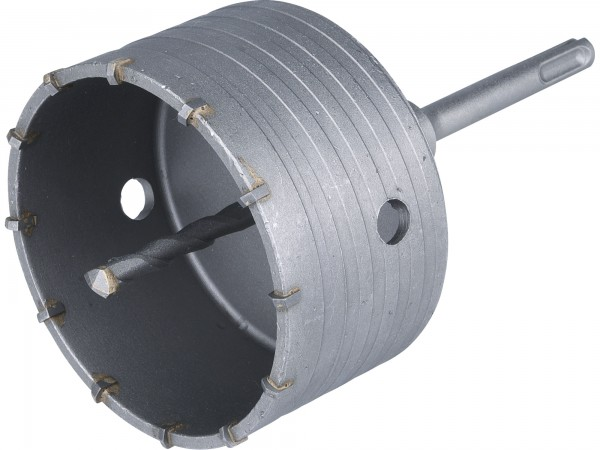 Extol Premium - vrták SDS PLUS do zdi korunkový 100mm, délka stopky 100mm