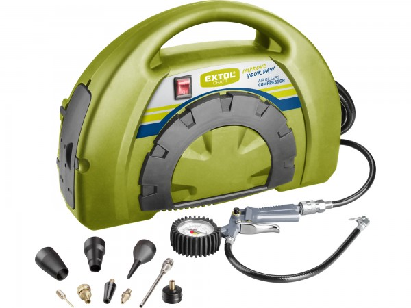 Extol Craft 418101 bezolejový kompresor 1100W