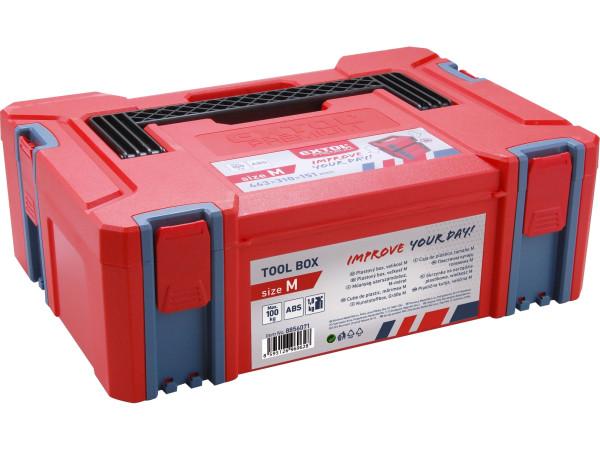box plastový, M velikost, rozměr 443x310x151mm, ABS