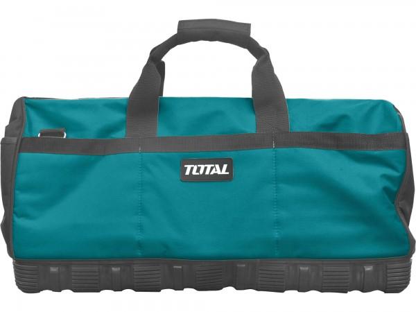 Total THT16241 taška na nářadí, 61 cm, plastové dno, industrial