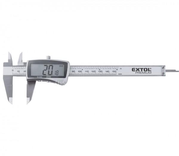 Extol Premium 8825220 měřítko posuvné digitální nerez, 0-150mm
