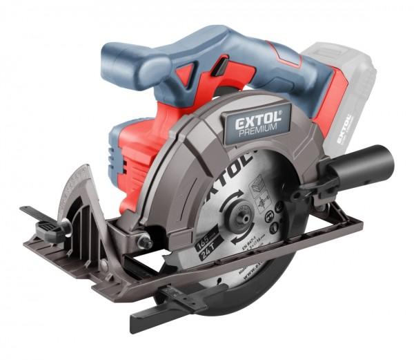 Extol Premium 8891823 pila kotoučová aku SHARE20V, 165mm, 20V Li-ion, bez baterie a nabíječky
