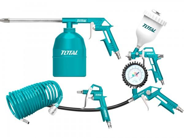 Total TATK053 kompresorová sada, pneu, 5ks