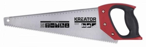 Kreator KRT801001 - Ruční pila 400 mm 7TPI