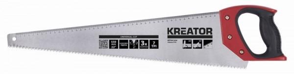 Kreator KRT801004 - Ruční pila 550 mm 7TPI