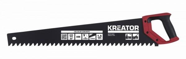 Kreator KRT810001 - Pila na porobeton 650 mm